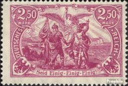 Deutsches Reich 115 Postfrisch 1920 Nord Und Süd - Germany