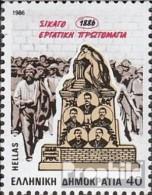 Griechenland 1634 (kompl.Ausg.) Postfrisch 1986 Streik - Nuevos
