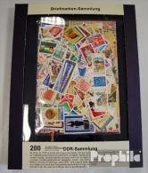 DDR 200 Verschiedene Marken Postfrisch - Colecciones