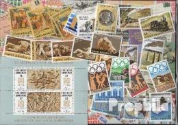 Griechenland 1984 Postfrisch Kompletter Jahrgang In Sauberer Erhaltung - Nuevos