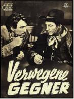 """Das Neue Film-Programm Von Ca. 1953  -  """"Verwegene Gegner""""  -  Mit Robert Taylor , Ava Gardner - Magazines"""