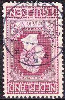 1913 Jubileumzegels Afstempeling AMSTERDAM 59 Op 1 Gulden Wijnrood Lijntanding 11½ : 11 NVPH 98 A - 1891-1948 (Wilhelmine)