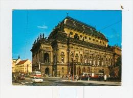 PRAHA,Narodni Divadlo-1977-BUS-Auto-CAR-!!!!!!!!! - Repubblica Ceca