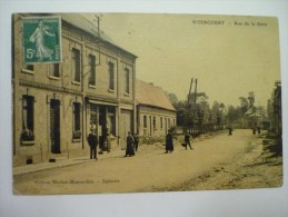 Woincourt : Rue De La Gare - Other Municipalities