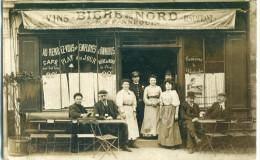 BELGIQUE - Lessines / Wambrechies / Jeumont ??? : CP-Photo  - Au Rendez-vous Des Employés D' Omnibus - Lessines