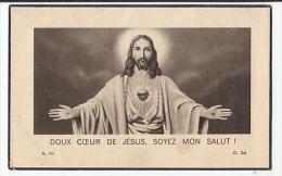 Décès Léon NOEL époux  Zelia Sterpigny Thibessart 1866 -1941 - Images Religieuses