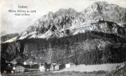 Cadore. Monte Antelao Veduto Da Borca - Italia