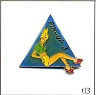 Pin´s - Pin´ Up - Pin´Up N# 03. Est. Ananas Production. Epoxy. T310-03 - Pin-ups