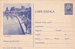 3670 FISHING COMPETITION ROMANIA.1963 UNUSED POSTAL STATIONERY - Postwaardestukken