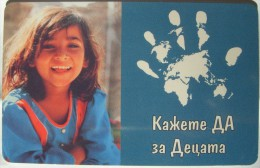 2001 Mobika - Unicef Children 3 - 25 Units / Used - Bulgaria