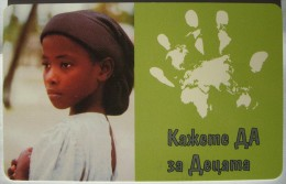 2001 Mobika - Unicef Children 2 - 50 Units / Used - Bulgaria