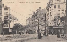 CPA - Lyon - Avenue De Saxe Et Cours Gambetta - Lyon