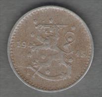 FINLANDIA 1 MARKKA 1945 - Finlandia