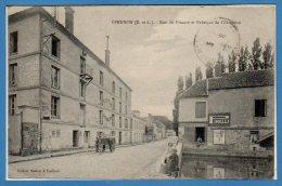 28 - EPERNON -- Rue  Du Prieuré Et Fabrique De Chaussons - Epernon