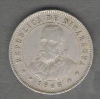 NICARAGUA 25 CENTAVOS 1965 - Nicaragua