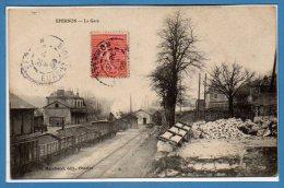 28 - EPERNON -- La Gare - Epernon