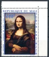 "MALI  1969  MNH  -   "" MONA LISA. TABLEAUX ""  -  1  VAL. - Mali (1959-...)"
