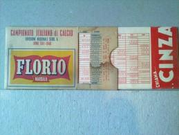 CALCIO - CAMPIONATO ITALIANO ANNO 1947-1948 - FLORIO MARSALA - CINZANO - Calcio