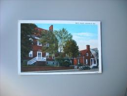 ETATS UNIS MD MARYLAND ANNAPOLIS BRICE HOUSE - Annapolis