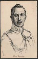 0075 Alte Künstlerkarte  Ansichtkarte - Kronprinz Wilhelm - Gelaufen Nach Danzig 1915 Albert Panzer Essen - Personnages