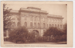 Poland - Warszawa - Bureau Central De La Poste - Poland