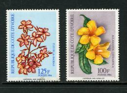 Cote d'Ivoire 1984 Y&T 701E/F **