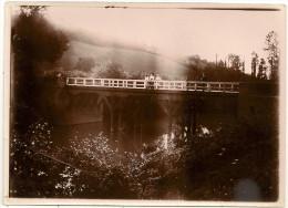 Photo 32 Auch (environs à Localiser ) Pont Avec Personnages - Auch