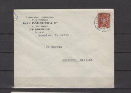 17 - La Rochelle - Jean Fourcher & Cie - Typographie Lithographie - 1943 - 1921-1960: Modern Period