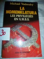 LA NOMENKLATURA  LES PRIVILEGES DE L'URSS   30/5 - Bücher, Zeitschriften, Comics