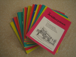 "Lot De 36 Revues US ""ARTILLERYMAN "" 1992 /2000 - Magazines & Papers"
