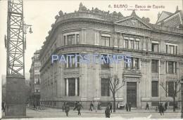505 SPAIN ESPAÑA BILBAO VIZCAYA PAIS VASCO BANK BANCO DE ESPAÑA POSTAL POSTCARD - Vizcaya (Bilbao)