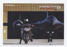 75-MOTO HONDA CBR 1100XX INVITATION CONCESSIONNAIRE PARIS 19 -RECTO/VERSO -C10 - Arrondissement: 19
