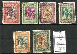 1947 SAN MARINO Serie Cpl Usata - San Marino
