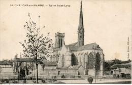 51. Chalons Sur Marne. Eglise Saint Loup - Châlons-sur-Marne