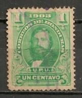 Timbres - Amérique - Honduras - 1903 - 1 Centavo - - Honduras