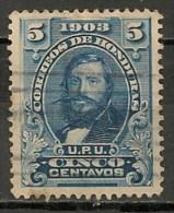 Timbres - Amérique - Honduras - 1903 - 5 Centavos - - Honduras