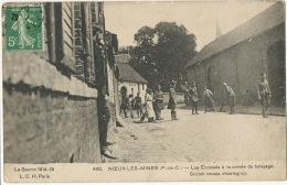 Noeux Les Mines Pas De Calais  North Of France Scotch Troops Clearing Up. WWI Guerre 1914 - Schottland