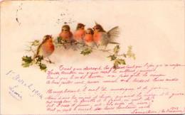 Oiseaux Sur Une Branche - 1900-1949