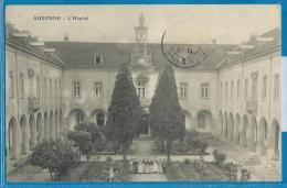 Auxonne (carte Circulée) - L'Hôpital - Auxonne