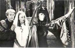 J. Fonda , M. Terehova - Soviet American Movie Actress - Blue Bird - 1977 - Russia USSR - Unused - Attori
