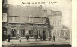 FRASNES-LEZ-BUISSENAL  - La Poste - Superbe animation  avec des facteurs + famille - Edit. Passeneur - 1906 - TOP -