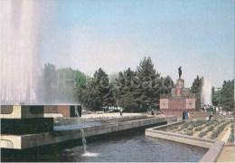 Lenin Square - Fountain - Ashgabat - Ashkhabad - 1989 - Turkmenistan USSR - Unused - Turkménistan
