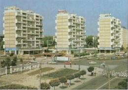 New Dwelling District - Bus - Cars - Kishinev - Chisinau - 1989 - Moldova USSR - Unused - Moldavie