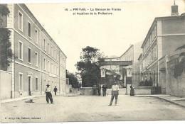 Ardèche : Privas, La Banque De France Et Archives De La Prefecture, Animée - Privas