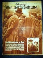 SCHWEIZER ILL ZEITUNG 47 Nov1932 Krawall Genf Konf. Abrüstung Geneve/ PassagierDampfer Paquebot Rex Normandie/ Zuchthaus - Revues & Journaux