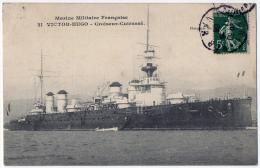 Marine Militaire Croiseur Cuirassé Le Victor Hugo 1908 état Superbe - Equipment