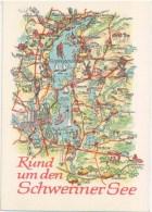 Rund Um Den Schweriner See - Germany - DDR - Unused - Allemagne