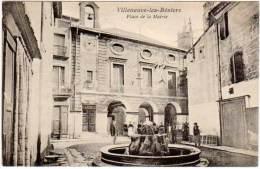 Villeneuve Les Béziers - Place De La Mairie - France