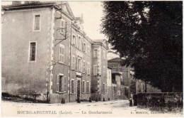 Bourg Argental - La Gendarmerie ( F. Martin, éditeur ) - Bourg Argental