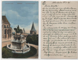 BUDAPEST - Saint Stéphan Denkmal - Texte Espérantiste (74423) - Esperanto
